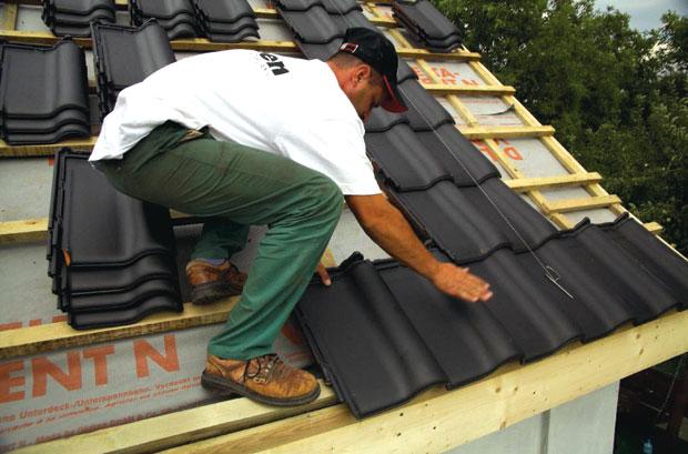 katus keraamilistest plaatidest